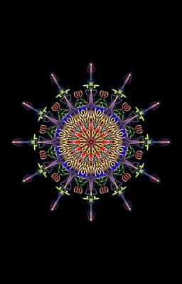 Digital Art - Symbol by Eric Weeber