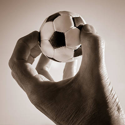 Photograph - Symbol Of Soccer by Ari Salmela
