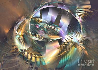 Digital Art - Symphony Of Colors - Fractal Art by Sipo Liimatainen