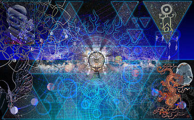 Digital Art - Synesthetic Dreamscape by Kenneth Armand Johnson