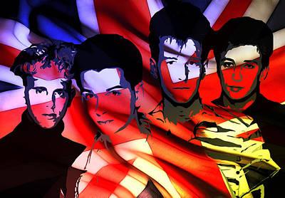 Synthesizer Heros Art Print by Steve K