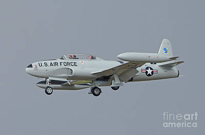 T33 Photograph - T-33 Fighter by Dennis Hammer
