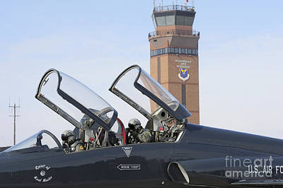 T-38 Talon Pilots Make Their Final Art Print by Stocktrek Images