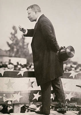 Photograph - T. Roosevelt: Campaign by Granger