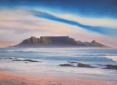 Table Mountain 1 Print by Adrian Van Staden