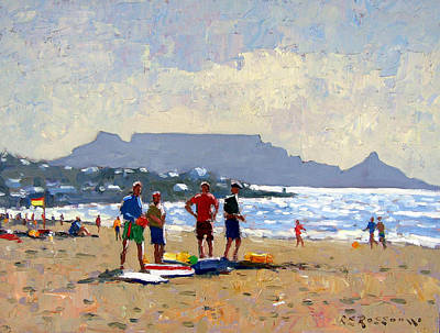 Table Mountain Cape Town Art Print by Roelof Rossouw