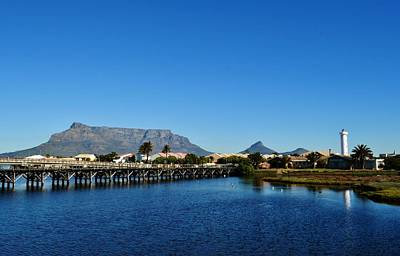 Art Print featuring the photograph Table Mountain by Werner Lehmann