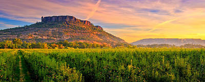 Table Rock Photograph - Table Rock Mountain by Alvin Kroon