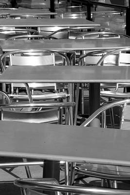 Photograph - Tables by Scott Brown