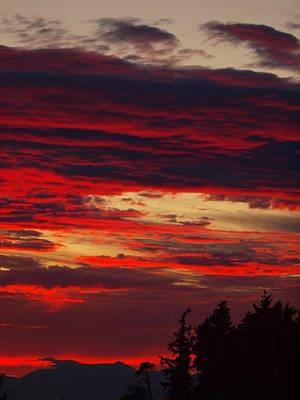 Tacoma Sunset 3 Art Print by Jim Moore
