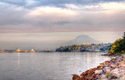 Photograph - Tacoma Waterfront by Barry Jones