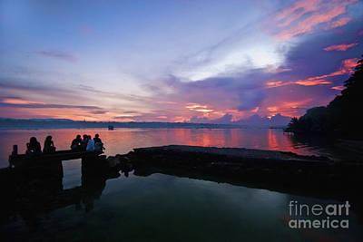 Photograph - Tagbilaran Sunset by Yhun Suarez