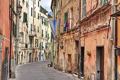 Stone House Photograph - Taggia In Liguria by Joana Kruse