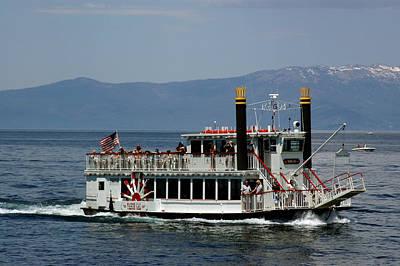 Rock Royalty - Tahoe Gal on Lake Tahoe by LeeAnn McLaneGoetz McLaneGoetzStudioLLCcom
