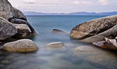 Photograph - Tahoe Rocks by Greg Nyquist