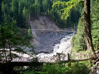 Photograph - Tahoma Creek Bridge by Mark Bowmer