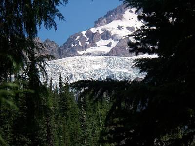 Photograph - Tahoma Glacier II by Mark Bowmer