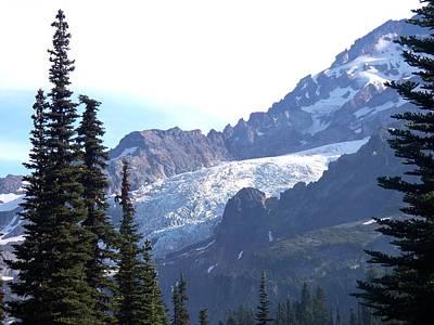 Photograph - Tahoma Glacier by Mark Bowmer