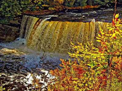 Whimsically Poetic Photographs - Tahquamenon Falls by Steve Harrington