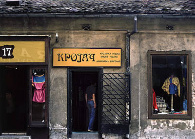 Photograph - Tailor Shop. Belgrade. Serbia by Juan Carlos Ferro Duque