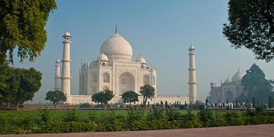 Photograph - Taj Garden by Mike Reid
