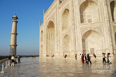 Photograph - Taj Mahal by Jen Bodendorfer