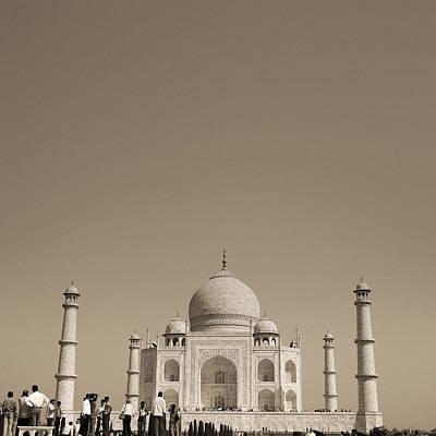 Taj Mahal Art Print by Mostafa Moftah