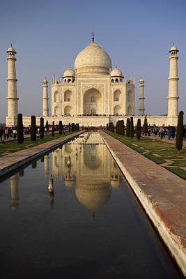 Water Photograph - Taj Mahal Reflection by Ivan Slosar