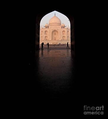 Photograph - Taj Portal by Mike Reid