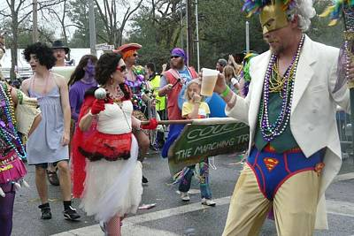 Photograph - Take Me To The Mardi Gras by Rdr Creative