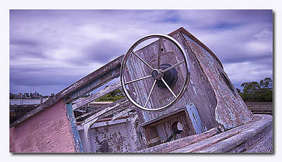 Take The Wheel Art Print