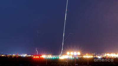 Airplane Photograph - Takeoff - 8706 by Chuck Smith
