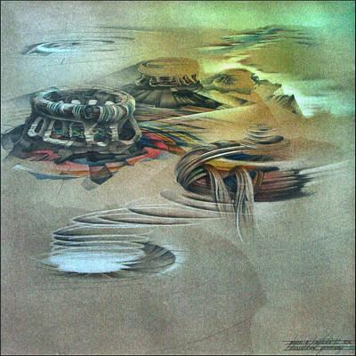 Pastel - Takeoff 1982 by Glenn Bautista