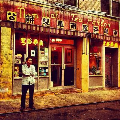 Cities Photograph - Taking A Break In Chinatown by Luke Kingma