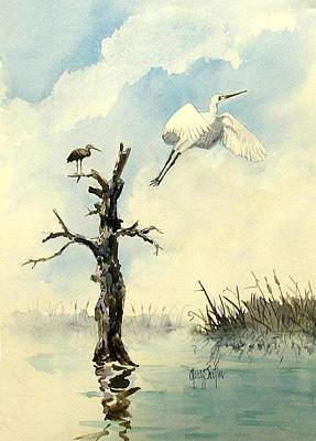 Painting - Taking Flight by Gary Partin