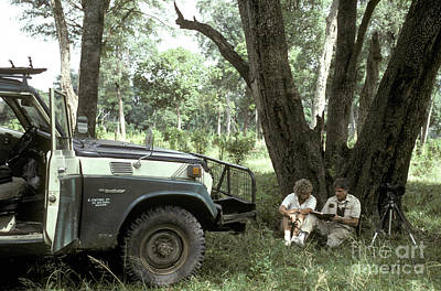 Photograph - Taking Notes In Kenya, East Africa by Greg Dimijian