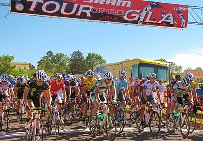 Tour Of The Gila Photograph - Taking Off At Fort Bayard by Feva  Fotos