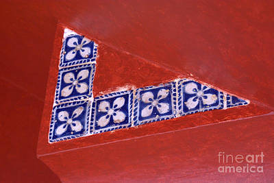 Photograph - Talavera Tile Design Puebla Mexico by John  Mitchell