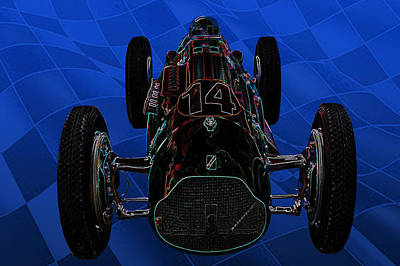 Talbot Lago T26c Body 110054 Art Print by Mike  Capone