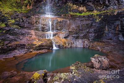 Highlands Of Scotland Photograph - Talisker Waterfall by Maciej Markiewicz