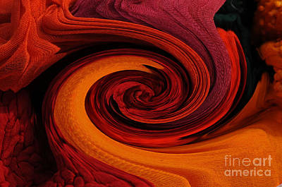 Cotton Muslin Photograph - Talking Textiles by Lyn Baker