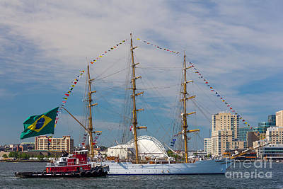 Photograph - Tall Ship Cisne Branco by Susan Cole Kelly