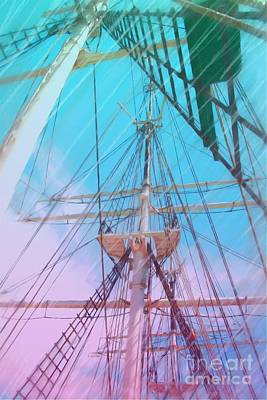 Painting - Tall Ship by Earl Jackson