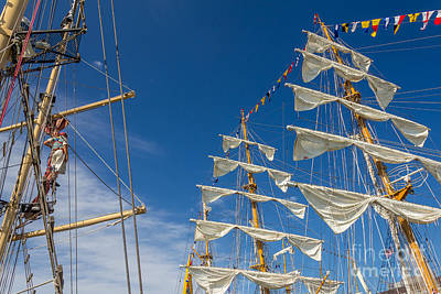 Photograph - Tall Ship Masts by Susan Cole Kelly