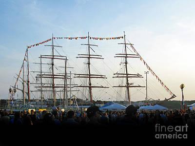 Photograph - Tall Ships 2009. Klaipeda. Lithuania by Ausra Huntington nee Paulauskaite