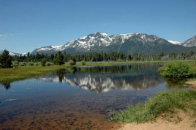 Lake Tahoe Photograph - Tallac Reflections by LeeAnn McLaneGoetz McLaneGoetzStudioLLCcom