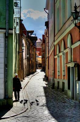 Tallinn Alley Original by John Ash