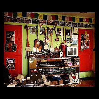 Guitar Wall Art - Photograph - #tamding #tattoo #studio #guitar #music by Sahil Gupta
