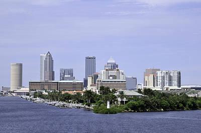 Photograph - Tampa Skyline by Bradford Martin