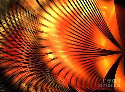 Tangerine Art Print by Kim Sy Ok